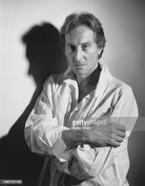 Portrait of actor Charles Dance promoting his appearance in the BBC Radio play 'A Tales of Two Cities' March 1989 First published in Radio Times...