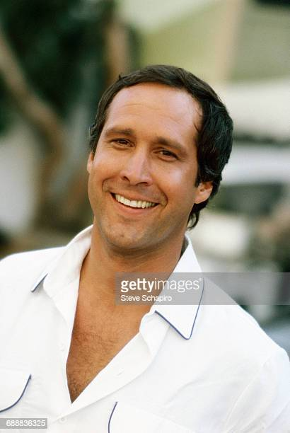 Portrait of actor Chevy Chase Los Angeles California 1983