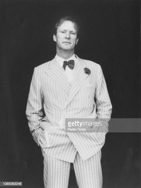 Portrait of actor Dennis Waterman photographed for Radio Times in connection with the television show 'Summertime Special' August 21st 1982