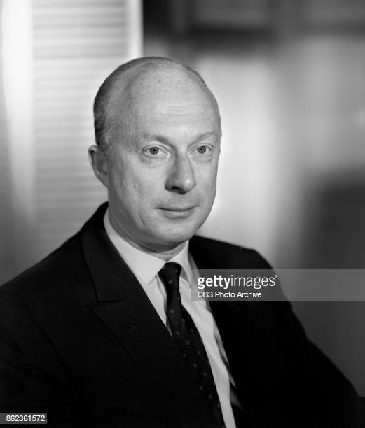 Portrait of actor / director Norman Lloyd He directed several episodes of the CBS television series Alfred Hitchcock Presents April 17 1962 Los...