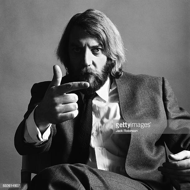 Portrait of actor Donald Sutherland 1970s