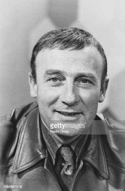 Portrait of actor Edward Woodward, photographed for Radio Times in connection with the television series 'Call My Bluff', November 1972.