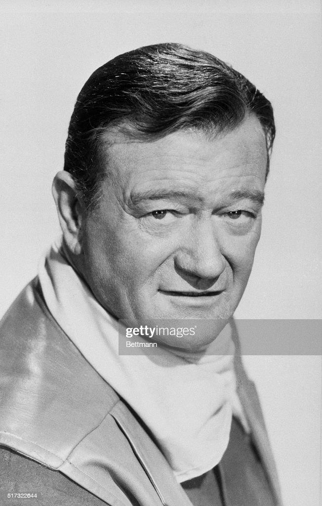 Portrait of actor John Wayne. File photo, 1966.