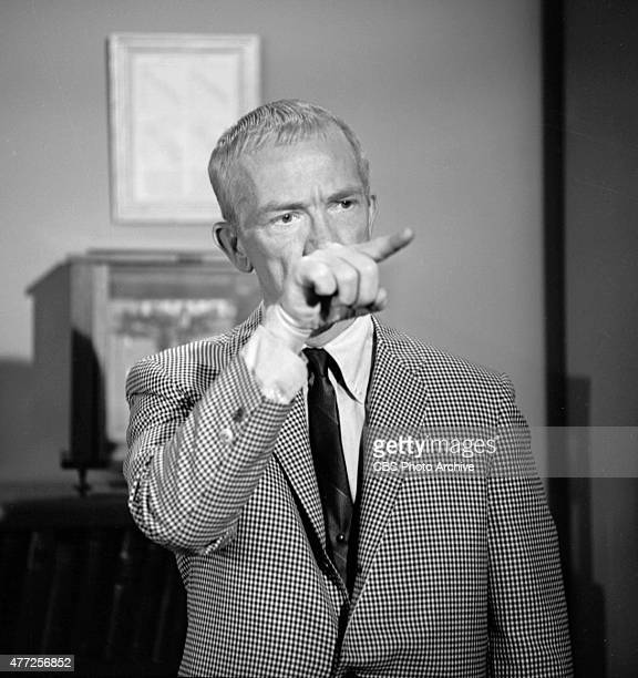 Portrait of actor Ray Walston He portrays Uncle Martin on the CBS television sitcom My Favorite Martian February 20 1964 Los Angeles CA
