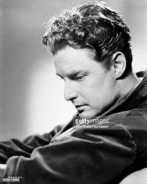 Portrait of actor Robert Donat for MGM Studios 1938