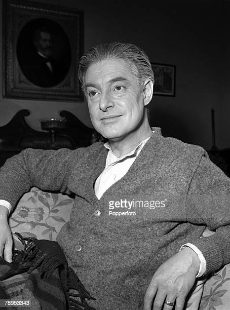 Portrait of Actor Robert Donat wearing thaetrical make up