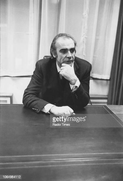 Portrait of actor Sean Connery April 1973