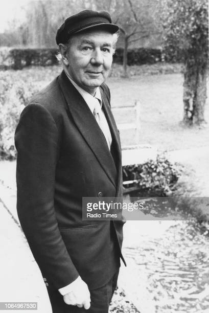 Portrait of actor Sir Michael Redgrave March 1st 1978