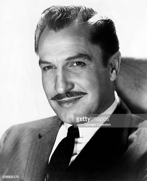 Portrait of actor Vincent Price Undated photograph