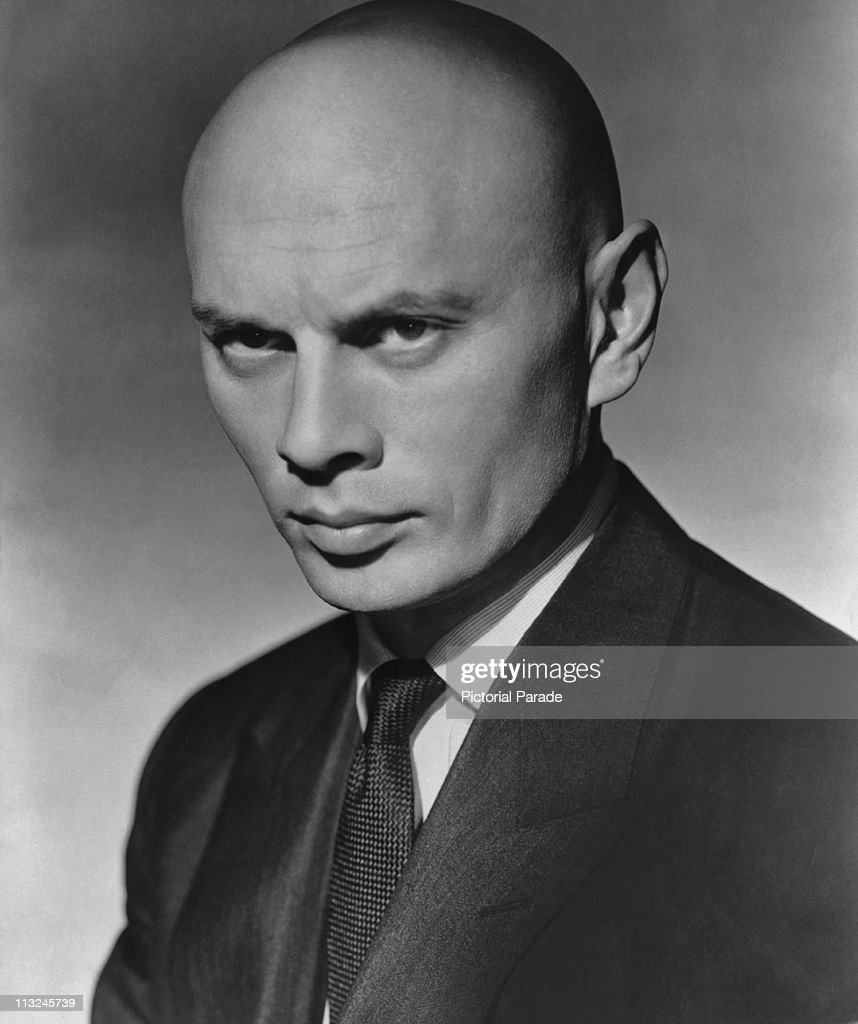 Portrait of actor Yul Brynner (1920 Ð 1985) in the 1950's.
