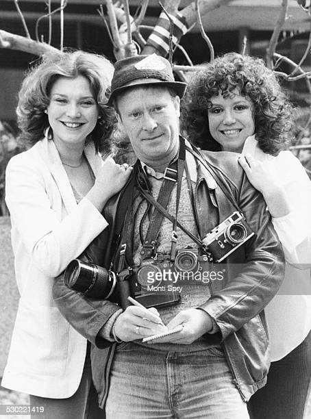 Portrait of actors Amanda Redman Dennis Waterman and Diane Langton promoting their new musical 'Windy City' at the Victoria Palace London April 14th...