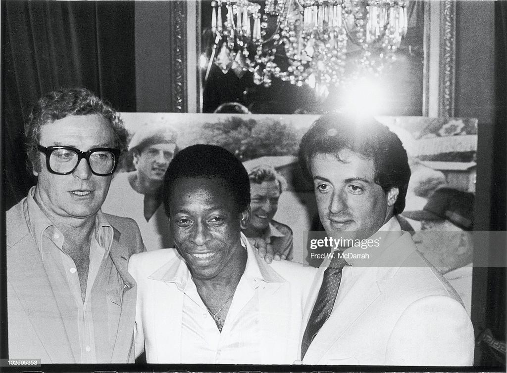 Caine, Pele, & Stallone At 'Victory' Premiere Party : News Photo