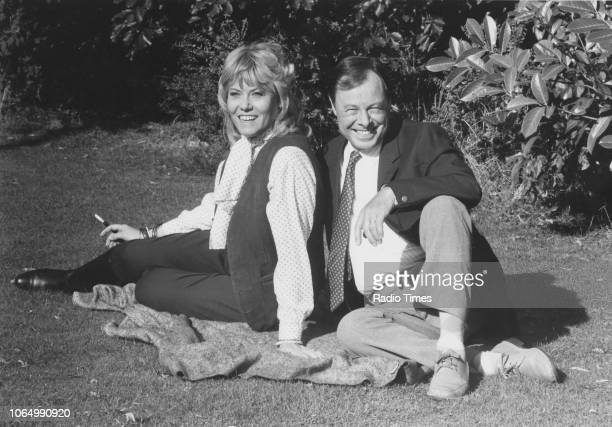 Portrait of actors Wendy Richard and Bill Treacher photographed for Radio Times in connection with the television soap opera 'EastEnders' October 4th...