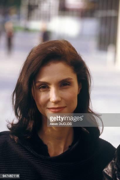 Portrait Of Actress Alessandra Martines Paris November 7 1994
