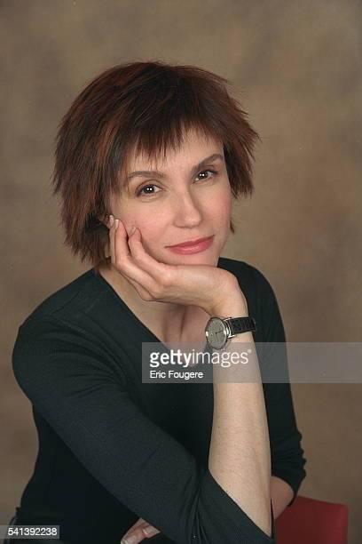 Portrait of actress Alessandra Martines