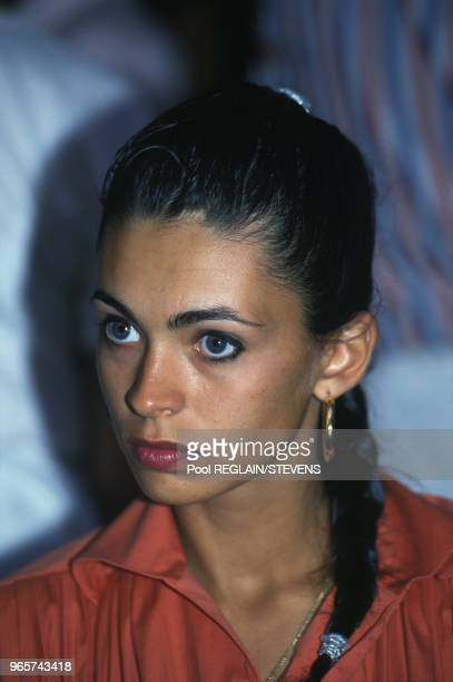 Portrait Of Actress And TV Presenter Adeline Blondieau Tropez July 16 1990