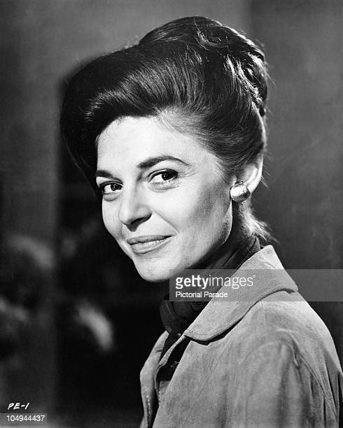 A portrait of actress Anne Bancroft circa 1950's