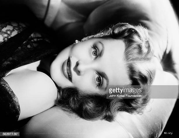 Portrait of actress Arlene Dahl for Warner Bros Studios 1946