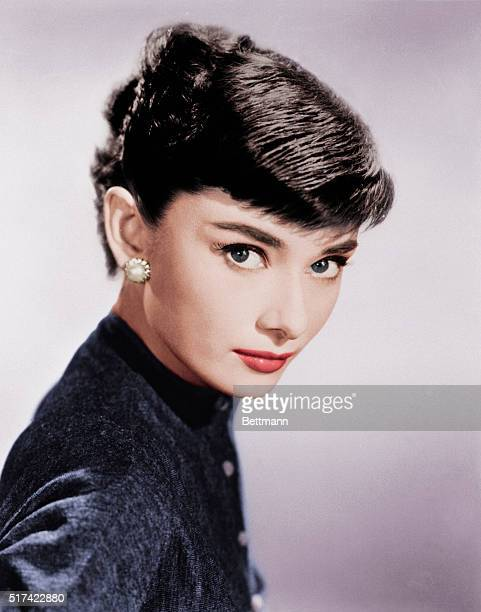 Portrait of Actress Audrey Hepburn