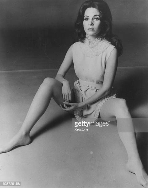 Portrait of actress Barbara Parkins star of the film 'Valley of the Dolls' circa 1967