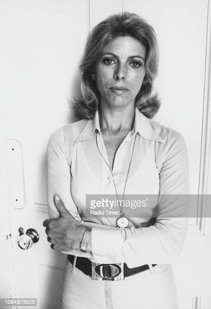 Portrait of actress Billie Whitelaw, photographed for Radio Times in connection with the television drama 'The Sextet - Night Duty', June 7th 1973.