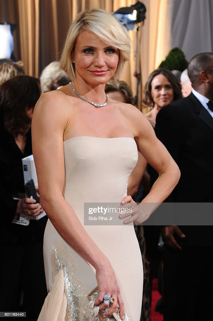 Cameron Diaz At The Oscars : News Photo