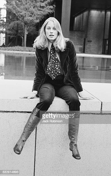 Portrait of actress Cybill Shepherd New York 1971