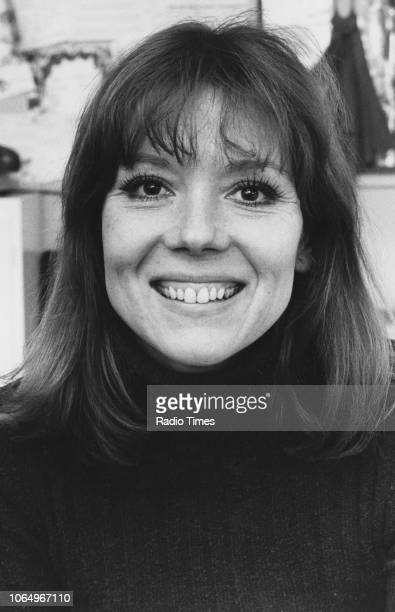 Portrait of actress Diana Rigg March 27th 1973