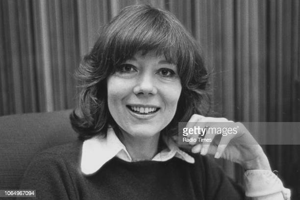 Portrait of actress Diana Rigg, May 1978.