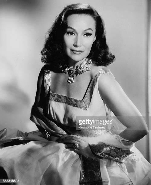Portrait of actress Dolores del Rio 1960
