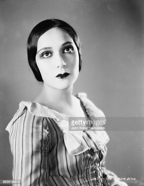 Portrait of actress Dolores del Rio as she appears in the film 'The Loves of Carmen' for MGM Studios 1927