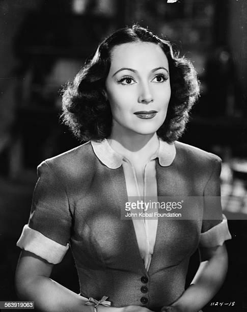 Portrait of actress Dolores del Rio , for MGM Studios, November 30th 1939.
