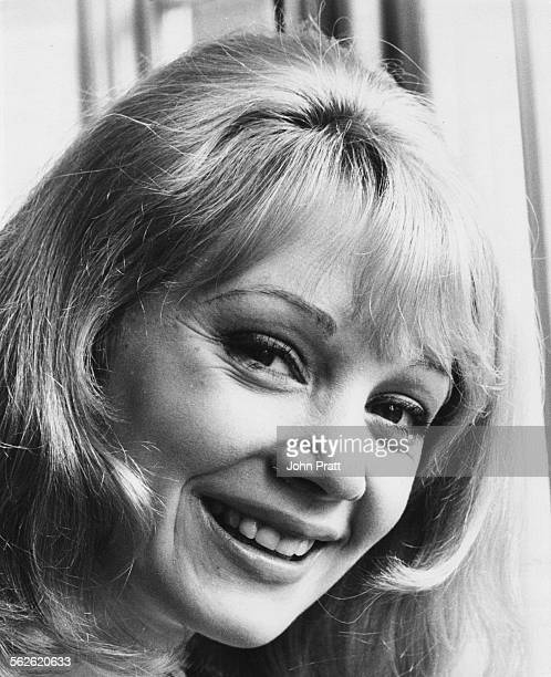 Portrait of actress Elaine Taylor soon to star in the Lance Percival Show circa 1968