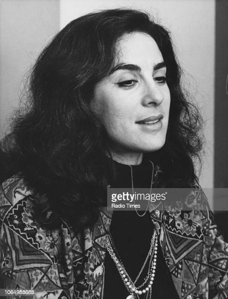 Portrait of actress Eleanor Bron photographed for Radio Times in connection with the BBC Radio 4 drama 'The Monday Play' February 17th 1974