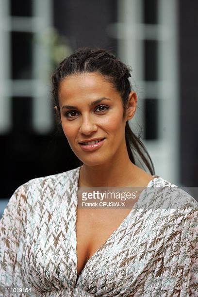 Portrait of actress Elisa Tovati during the premiere of the film 99 francs in Lille France on September 7th 2007