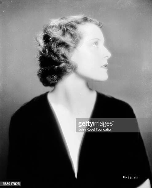 Portrait of actress Frances Dee wearing a lowcut top for Paramount Pictures 1930