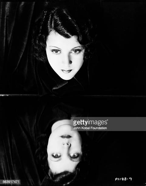 Portrait of actress Frances Dee with her reflection for Paramount Pictures 1930