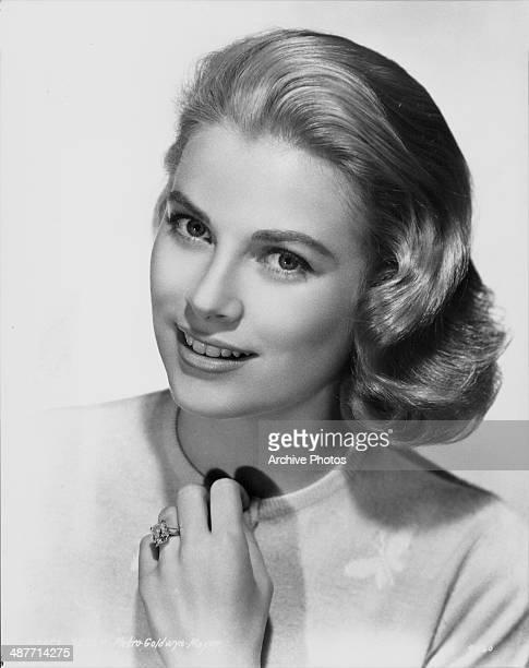 Portrait of actress Grace Kelly circa 19501960