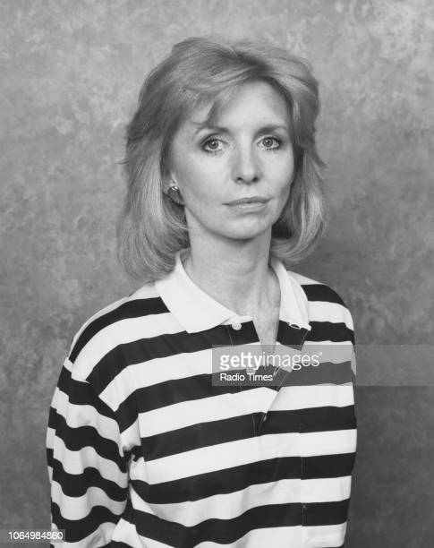Portrait of actress Jane Asher photographed for Radio Times in connection with the BBC Radio 4 serial 'Crown House' 1988