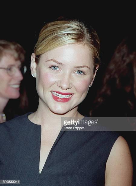Portrait of actress Jessica Capshaw .
