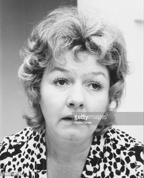 Portrait of actress Joan Sims August 1971