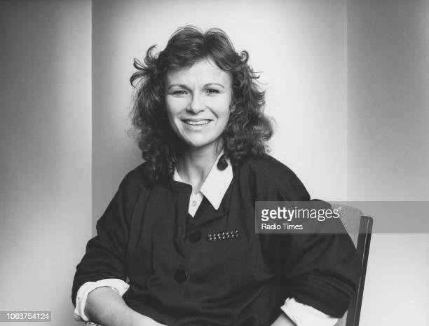 Portrait of actress Julie Walters October 1984