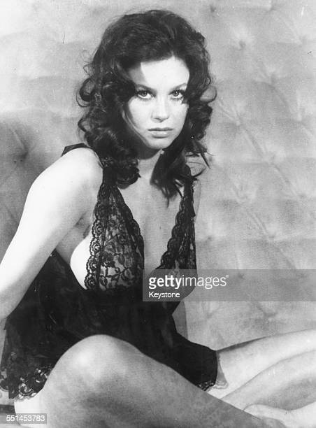Portrait of actress Lana Wood wearing lingerie as she appears in the James Bond film 'Diamonds are Forever' circa 1971