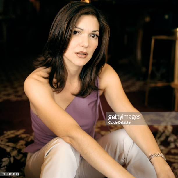 Portrait of actress Laura Harring during the Cannes Film Festival in 2001 Harring starred as Rita and Camilla in the American film Mulholland Drive...