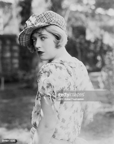 Portrait of actress Marion Davies wearing a tartan cap for MGM Studios November 8th 1927