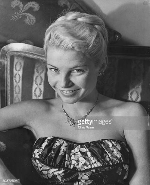 Portrait of actress Mary Peach who has just signed a long term TV contract with ABC Television circa 1960