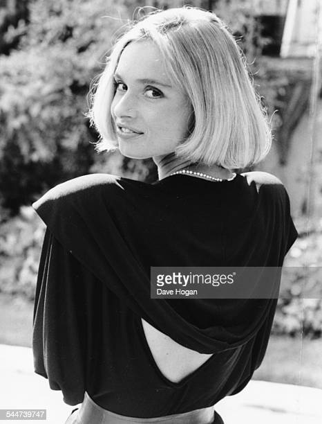 Portrait of actress Maryam d'Abo the new Bond girl in London September 18th 1986