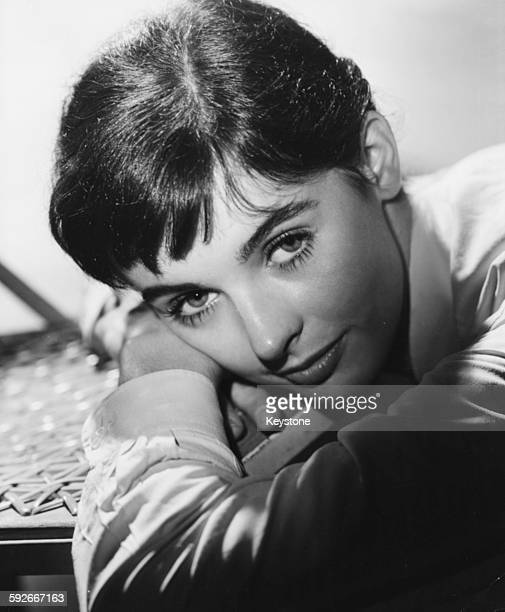 Portrait of actress Millie Perkins as she appears in the film 'The Diary of Anne Frank' circa 1959