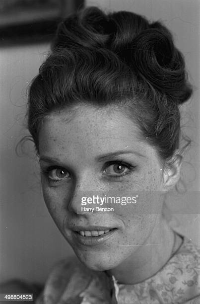 Portrait of actress Samantha Eggar 1964