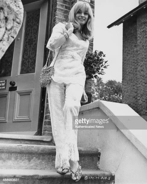 Portrait of actress Suzy Kendall as she appears in the film '30 Is a Dangerous Age Cynthia' 1968